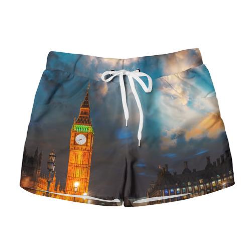 Женские шорты 3D  Фото 01, Лондон