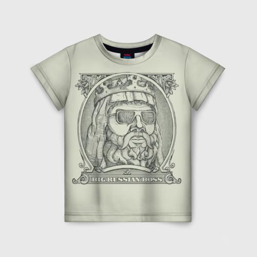Детская футболка 3D Big Russian Boss Фото 01