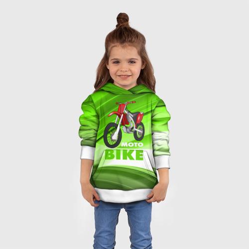 Детская толстовка 3D Motobike Фото 01