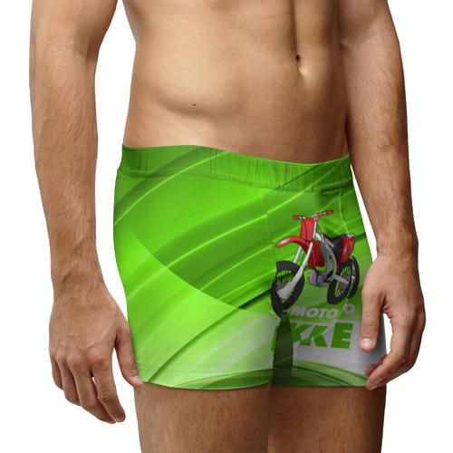 Мужские трусы 3D  Фото 03, Motobike