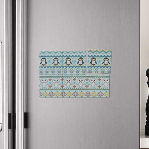 Магнитный плакат 3Х2  Фото 04, Детский вязаный узор