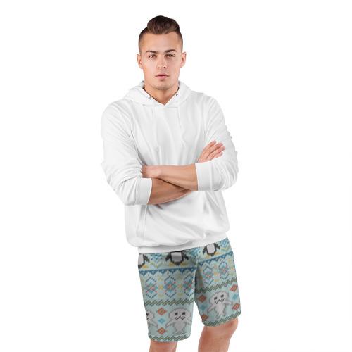Мужские шорты 3D спортивные  Фото 05, Детский вязаный узор