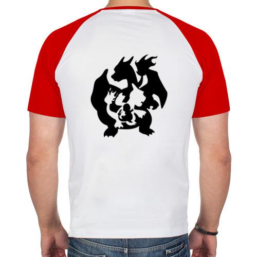 Мужская футболка реглан  Фото 02, Покемоны