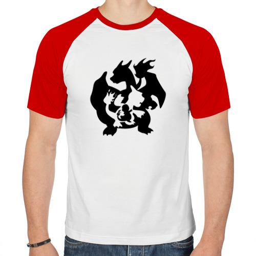 Мужская футболка реглан  Фото 01, Покемоны