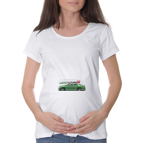 Футболка для беременных хлопок  Фото 01, Jzx100