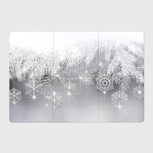 Магнитный плакат 3Х2  Фото 01, Snowflakes