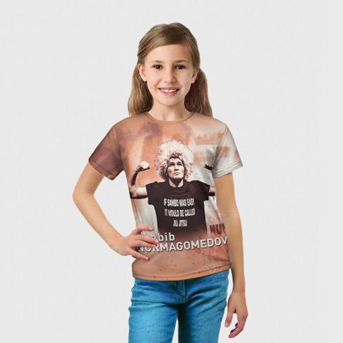 Детская футболка 3D  Фото 03, Хабиб Нурмагомедов