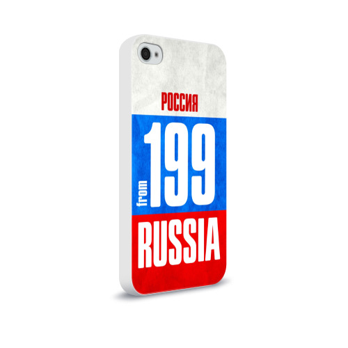 Чехол для Apple iPhone 4/4S soft-touch  Фото 02, Russia (from 199)
