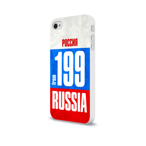 Чехол для Apple iPhone 4/4S soft-touch  Фото 03, Russia (from 199)