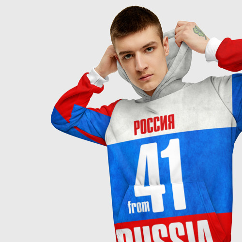 Мужская толстовка 3D Russia (from 41) Фото 01