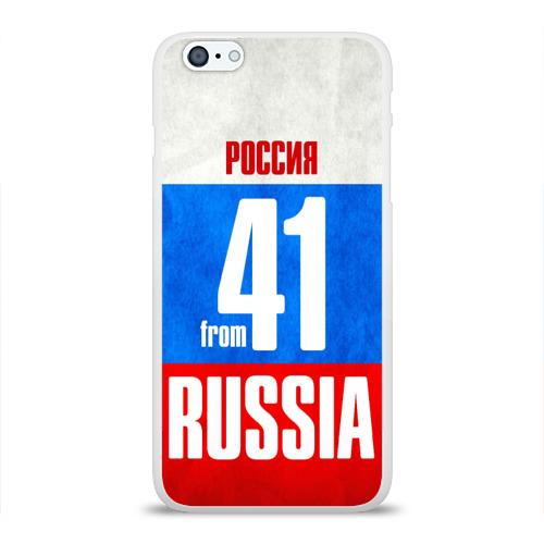 Чехол для Apple iPhone 6Plus/6SPlus силиконовый глянцевый Russia (from 41) Фото 01
