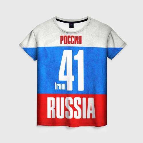 Женская футболка 3D Russia (from 41) Фото 01