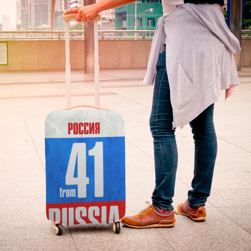Чехол для чемодана 3D Russia (from 41) Фото 01