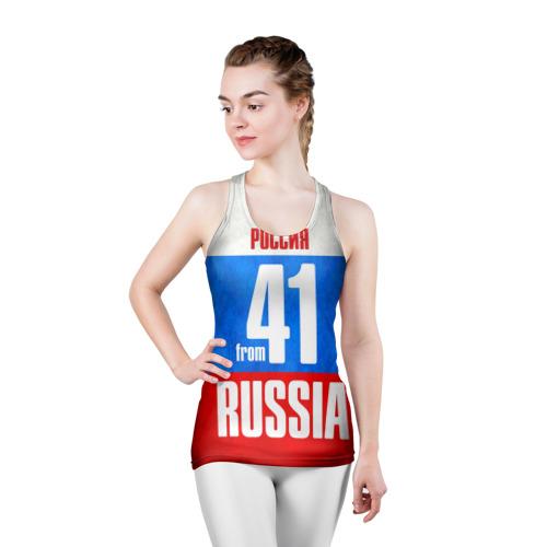 Женская майка 3D спортивная  Фото 03, Russia (from 41)
