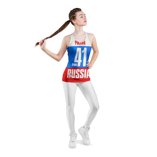 Женская майка 3D спортивная  Фото 05, Russia (from 41)