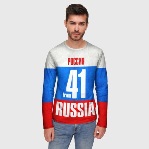 Мужской лонгслив 3D Russia (from 41) Фото 01