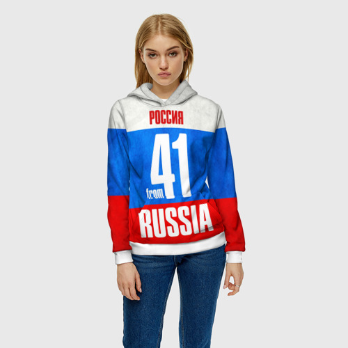Женская толстовка 3D Russia (from 41) Фото 01