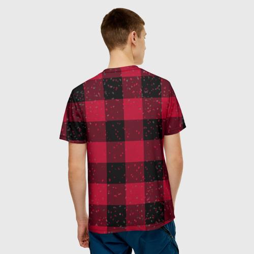 Мужская футболка 3D  Фото 02, Санта хипстер