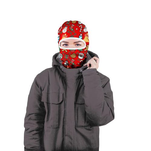 Балаклава 3D  Фото 04, Новогодняя
