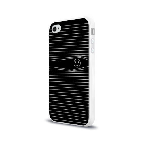 Чехол для Apple iPhone 4/4S силиконовый глянцевый Я все вижу Фото 01