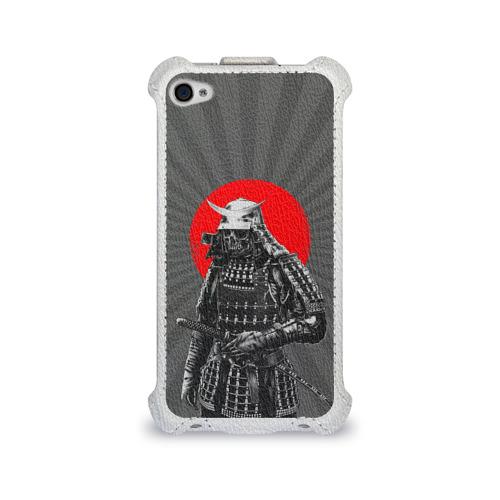 Чехол для Apple iPhone 4/4S flip  Фото 01, Мертвый самурай