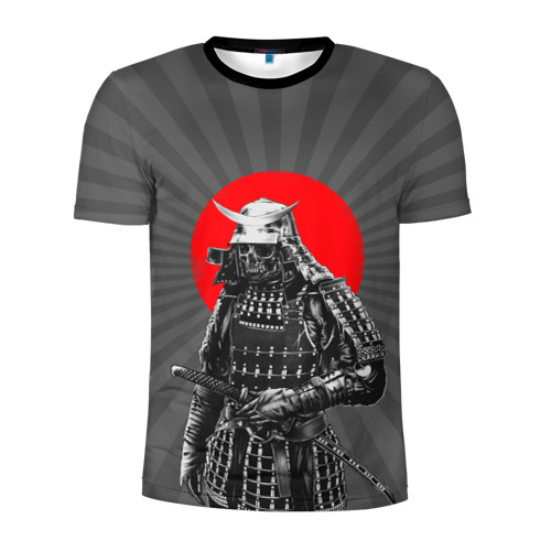 Мужская футболка 3D спортивная Мертвый самурай