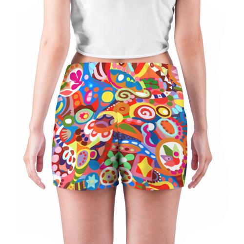 Женские шорты 3D  Фото 04, Абстракция
