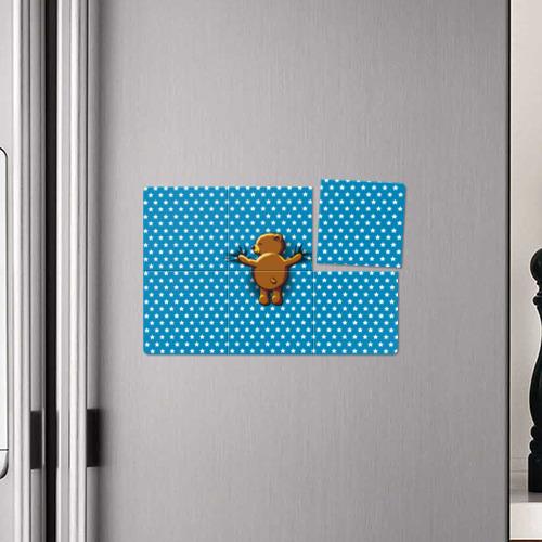 Магнитный плакат 3Х2  Фото 04, Медвежьи объятия