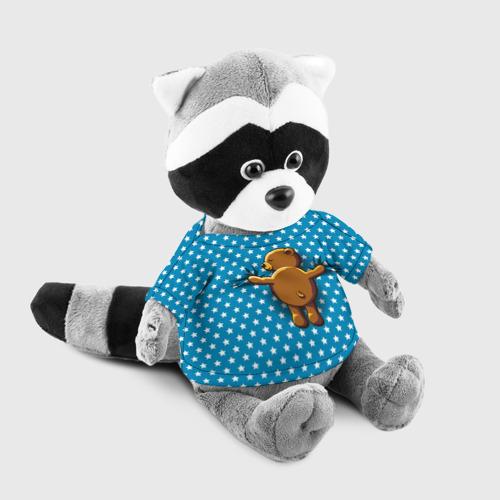 Енотик в футболке 3D  Фото 03, Медвежьи объятия