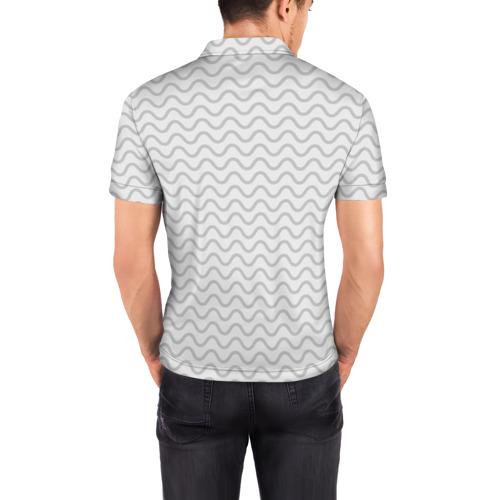 Мужская рубашка поло 3D  Фото 04, Рогатый волк