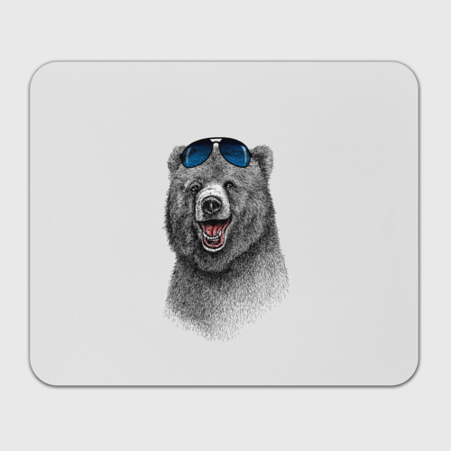 Коврик прямоугольный  Фото 01, Счастливый медведь