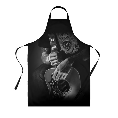 Фартук 3D Гитарист