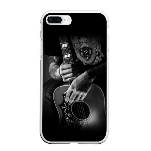 Чехол для iPhone 7Plus/8 Plus матовый Гитарист Фото 01