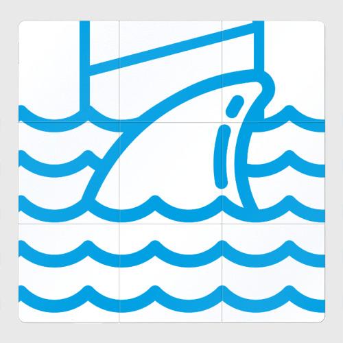 Магнитный плакат 3Х3 Акула сетевого