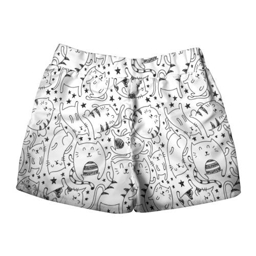 Женские шорты 3D  Фото 02, Котейки