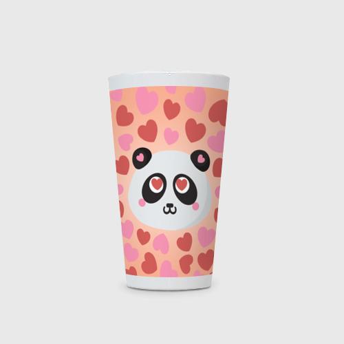 Кружка Латте  Фото 03, Влюбленная панда
