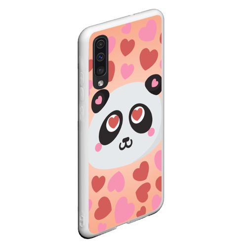 Чехол для Samsung A50 Влюбленная панда Фото 01
