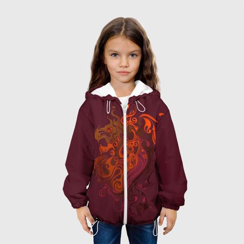 Детская куртка 3D  Фото 04, Abstract-Lion