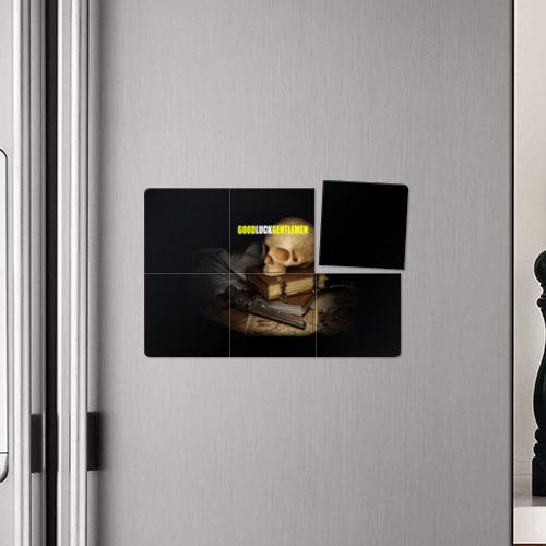 Магнитный плакат 3Х2  Фото 04, Джентльмен удачи