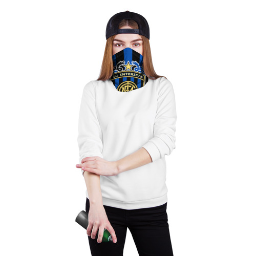 Бандана-труба 3D Интер ФК Фото 01