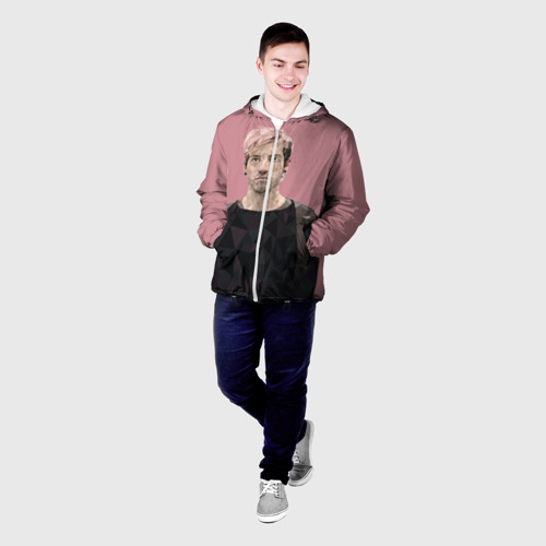 Мужская куртка 3D Джош Дан Фото 01