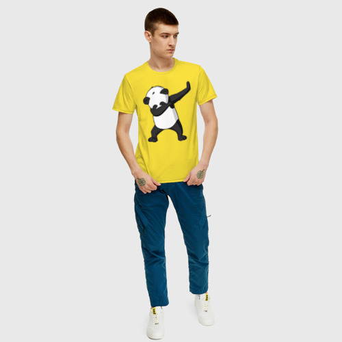 Мужская футболка хлопок Panda dab Фото 01