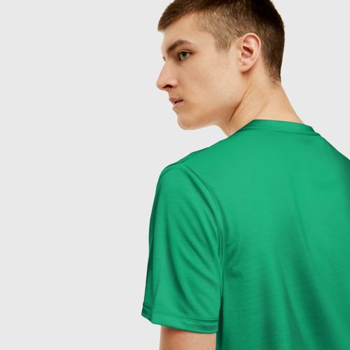 Мужская футболка 3D Симпсоны новогодние 3 Фото 01