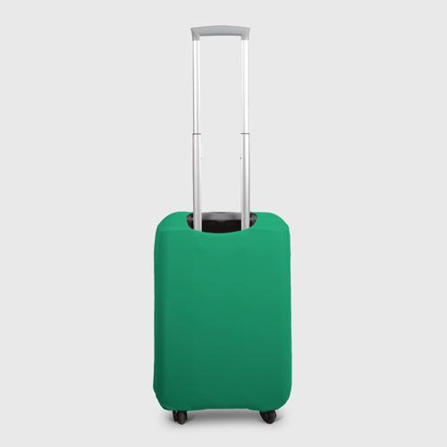 Чехол для чемодана 3D Симпсоны новогодние 3 Фото 01