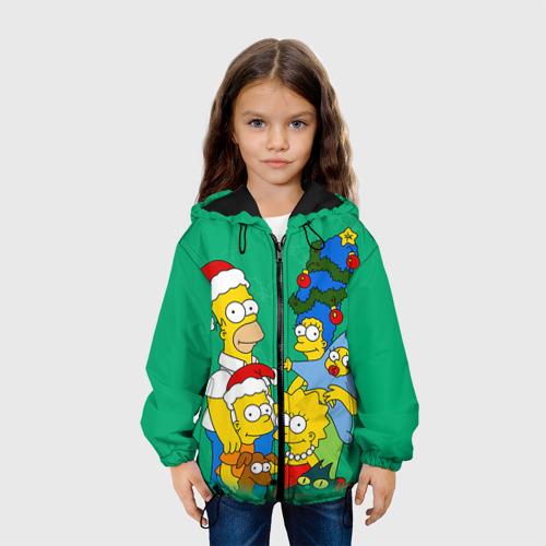 Детская куртка 3D Симпсоны новогодние 3 Фото 01