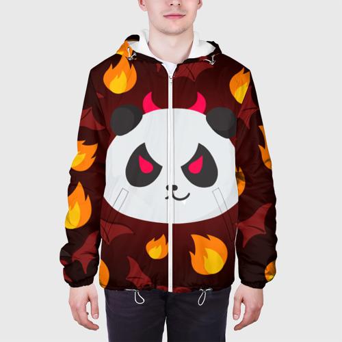 Мужская куртка 3D  Фото 04, Панда дьяволенок