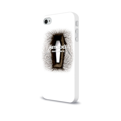 Чехол для Apple iPhone 4/4S soft-touch  Фото 03, Metallica 1