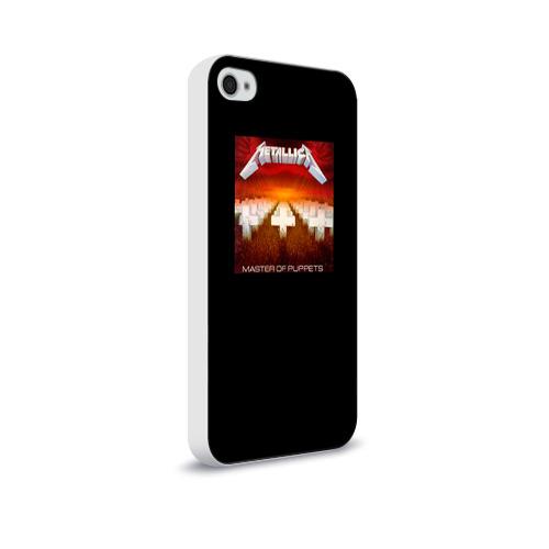 Чехол для Apple iPhone 4/4S soft-touch  Фото 02, Metallica 2