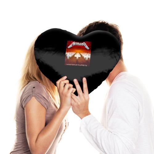 Подушка 3D сердце  Фото 03, Metallica 2