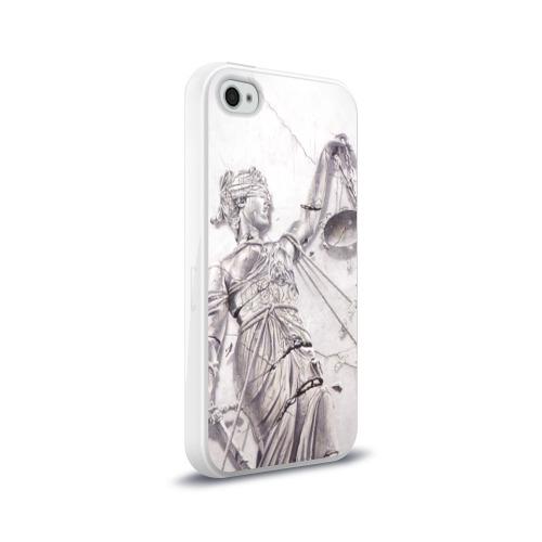 Чехол для Apple iPhone 4/4S силиконовый глянцевый  Фото 02, Metallica 3